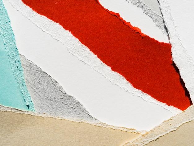 Lágrimas de papel coloridas