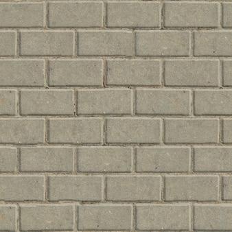 Lajes de pavimentação retangulares de textura oscilável sem emenda