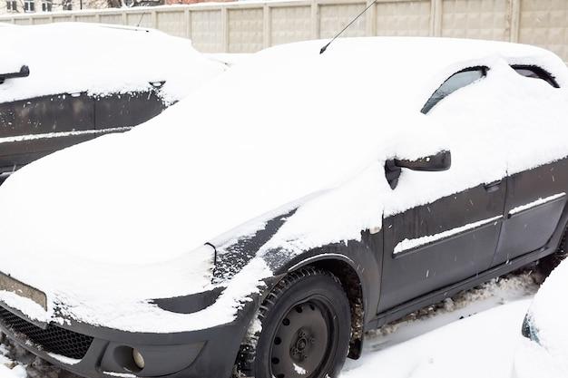 Lama de neve da máquina