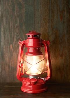Lâmpada a óleo de querosene lanterna