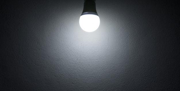 Lâmpada de luz de fundo ou papel de parede