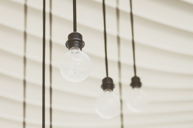 Lâmpada de luz do vintage