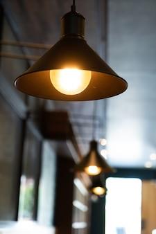 Lâmpada de luz suspensa