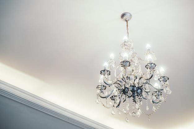 Lâmpada do teto interior luz real