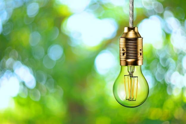 Lâmpada ecológica de filamento de led