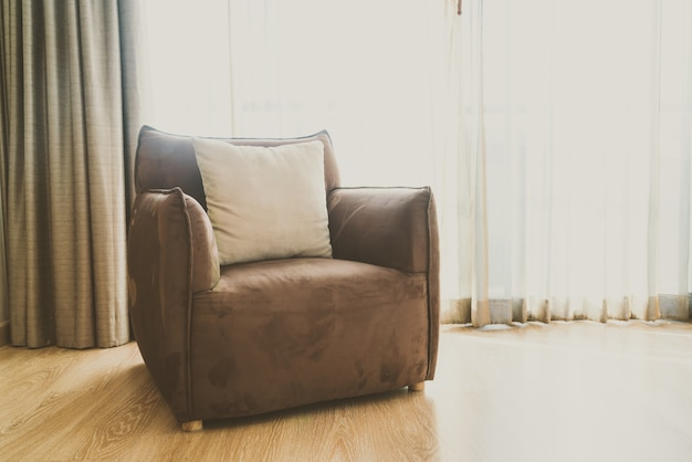 Lâmpada mobília da sala poltrona clássica