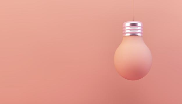 Lâmpada rosa