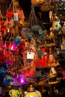 Lâmpadas árabes tradicionais souk madinat jumeirah