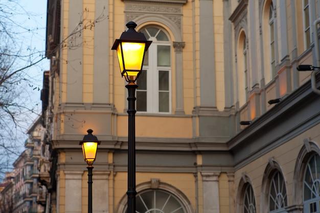 Lâmpadas de rua