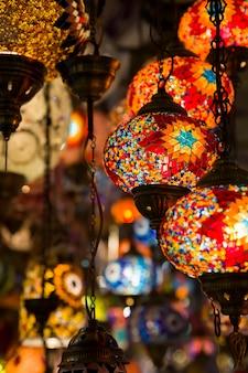Lâmpadas decorativas turcas