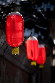 Lâmpadas do chinês tradicional