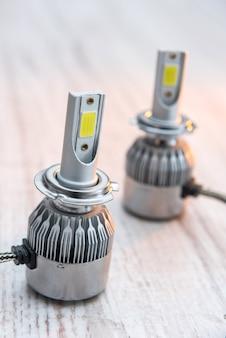 Lâmpadas elétricas diod para consertar lâmpadas de carros
