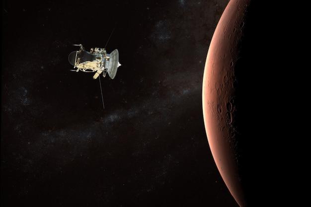 Lançamento da nave espacial ao espaço Foto Premium
