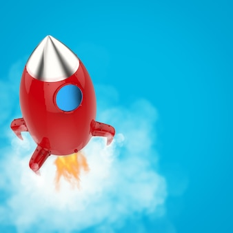 Lançamento do ônibus espacial fora da caixa