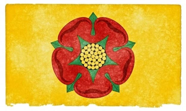 Lancashire grunge bandeira
