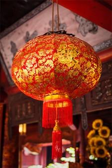 Lanterna chinesa tradicional