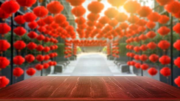 Lanternas chinesas do ano novo, exposição dos produtos.
