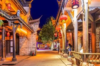 Lanternas de viagem cidade arquitetura histórica