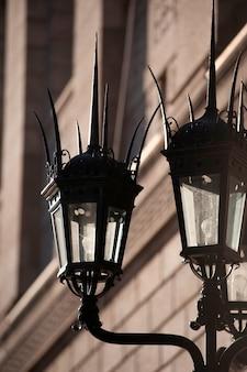 Lanternas em boston, massachusetts, eua