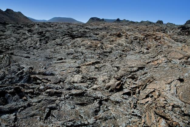 Lanzarote timanfaya fire mountains lava vulcânica