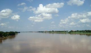 Laos do rio mekong
