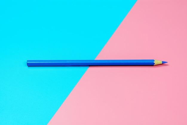 Lápis de cera azul