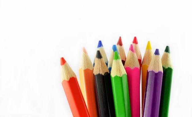 Lápis de cor isolado