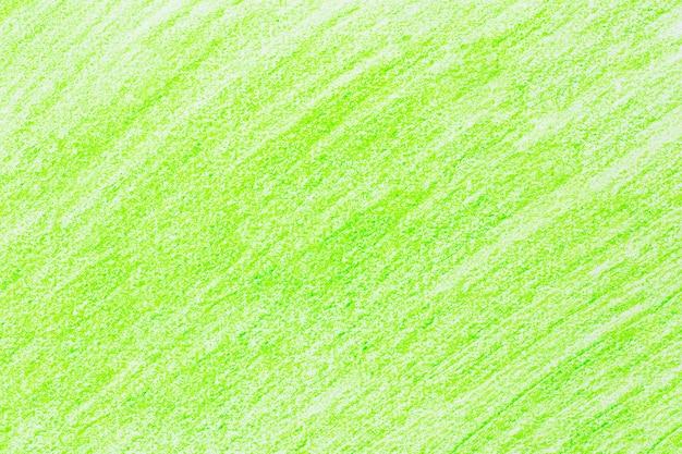Lápis de traço verde desenho desenho em papel branco