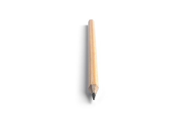 Lápis isolado no fundo branco. foto de alta qualidade