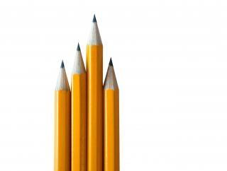 Lápis isolado