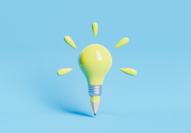 Lápis lâmpada mínima