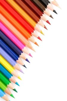 Lápis multicoloridos