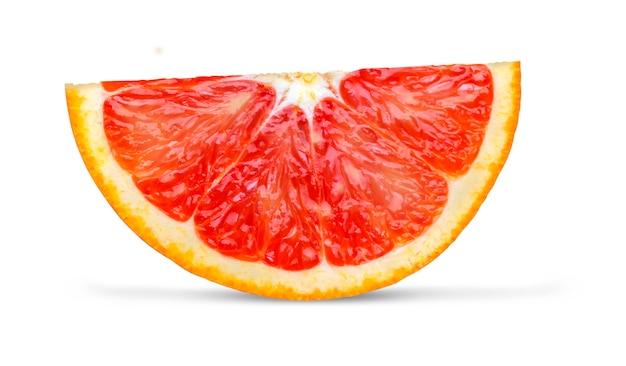 Laranja vermelha close-up