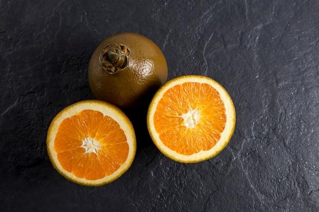 Laranjas de chocolate de umbigo é uma nova variedade de laranjas