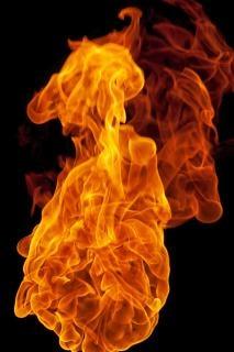 Lareira bola de fogo