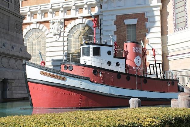 Las vegas barco do fogo bombeiro