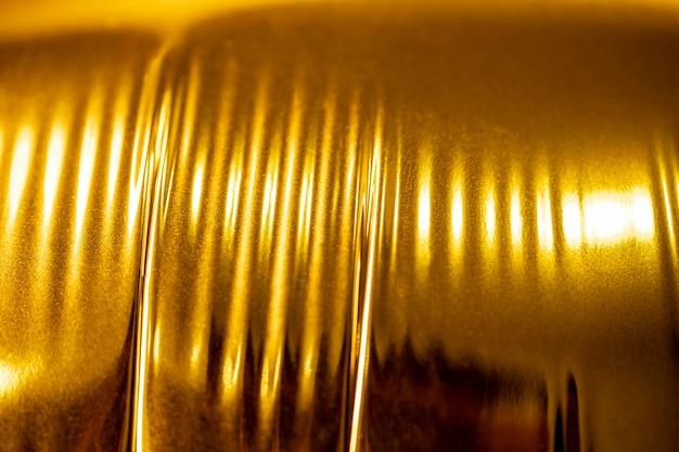 Lata de alumínio brilhante extremamente close-up