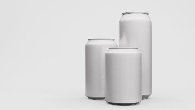 Lata de alumínio ou pacote de refrigerante