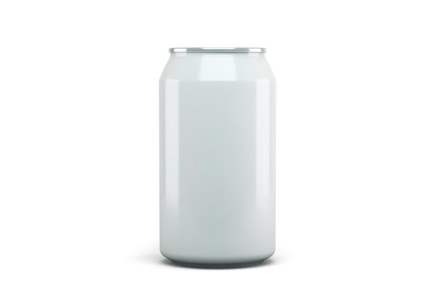 Lata de refrigerante isolada