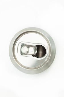 Lata vazia para ser reciclada
