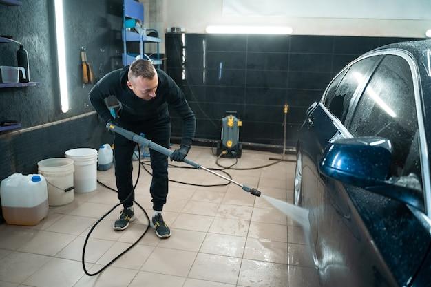 Lava-carros profissional