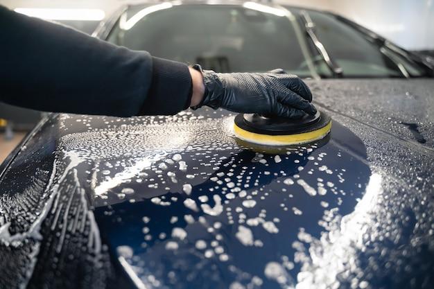 Lavagem de carros detalhada