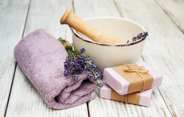 Lavanda com sabão