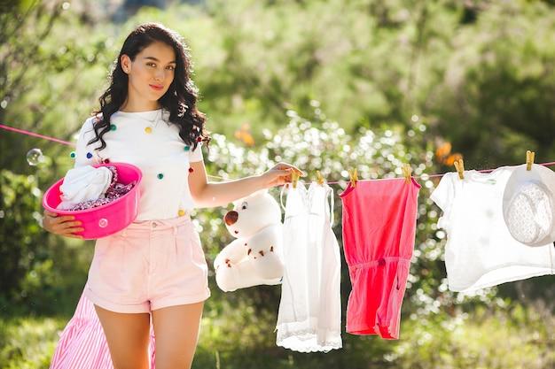 Lavanderia dona de casa