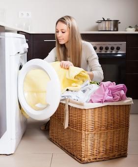 Lavanderia em casa