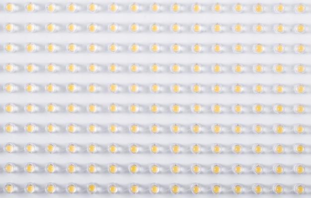 Led pequeno lâmpadas close-up