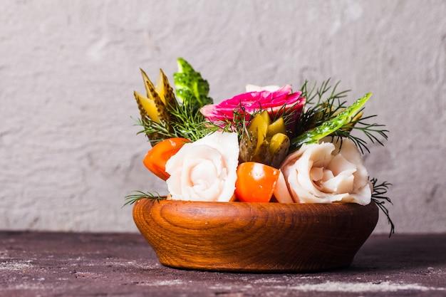 Legumes entalhados para homens