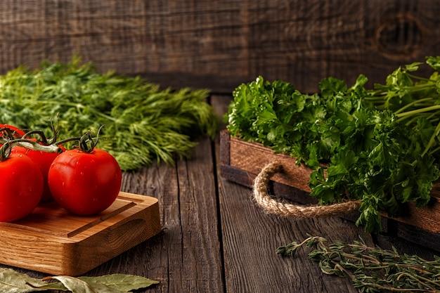 Legumes, ervas e especiarias