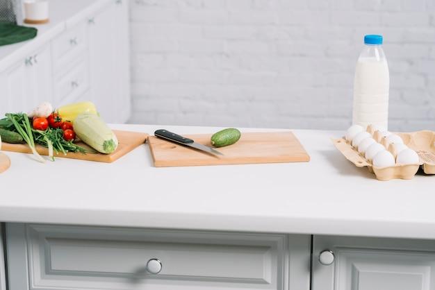Legumes na cozinha