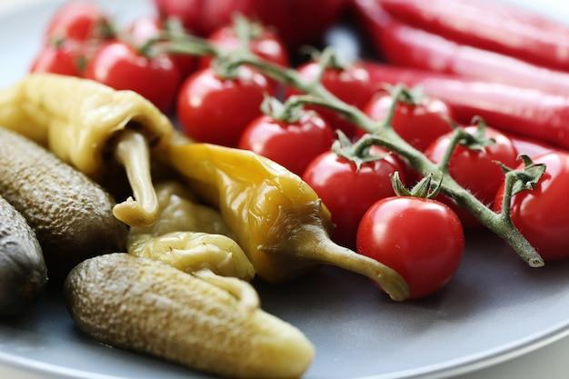 Legumes para churrasco